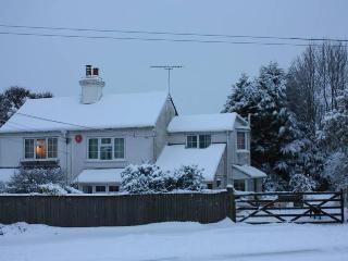Bracken Cottage in winter