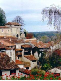 Aubeterre sur Dronne, a lively hilltop village, with historic sites and lovely beach.