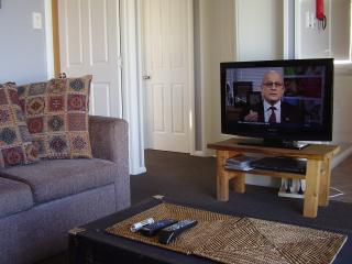 Lounge with digital TV and DVD