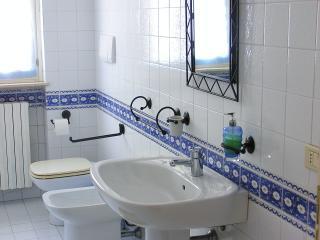 il bagno riservato agli ospiti