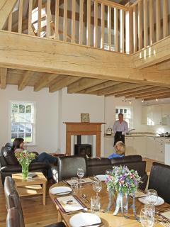 Tudor Holiday Cottage Dining Living