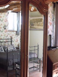 Norman armoire in the master bedroom