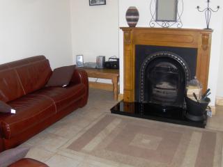 left view living room