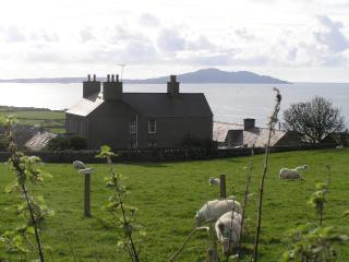 Views out over Church Bay from The Back Wing  (right hand side of farmhouse)