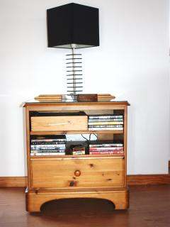 Entertainment includes Wii - numerous games, board games, DVD's, books and UK TV!