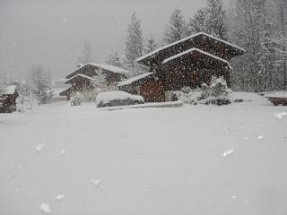 A little snow!