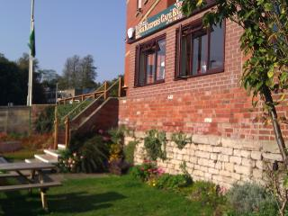 Lockside garden for Bell House & the Upper Lock Cafe