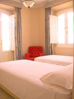 Bedroom 2 with ensuite bathroom