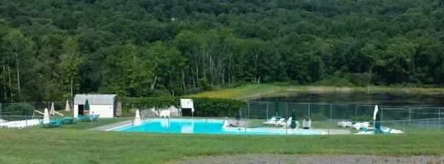 Outdoor Pool area @ Sun Mtn Rec
