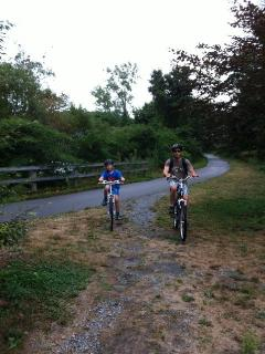 Biking the Cape Cod trail