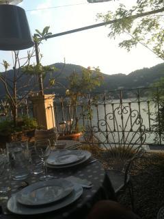 Dinner on the terrace