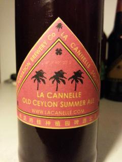 La Cannelle Summer Ale
