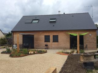 Maison bois au charme moderne