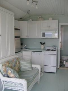interior with murphy bed up
