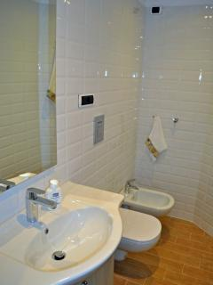 third bathroom with shower