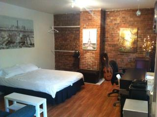 wow lovely studio with blacony, sleeps 2, downtown, Montreal