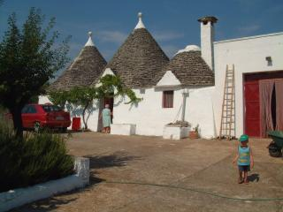 Splendidi trulli in valle d'Itria