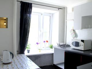Sunny apartment for short stay in moscow, Moskau