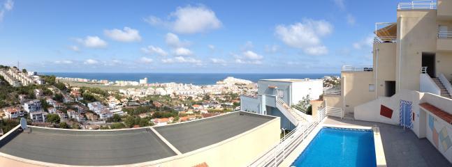 vistas desde la terraza y salon