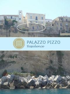 The palazzo is located on the edge of a rock, about 50 meters above sea level with spectacular views