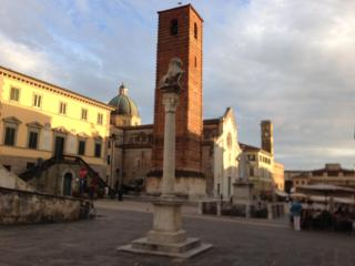 Pietrasanta beautiful historical building