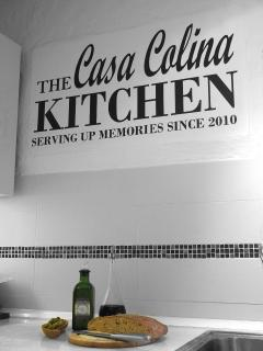 Where all our meals are prepared including daily fresh bread served with our own organic olive oil