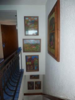Pictures Adorning Staircase