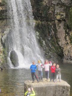 Thornton Force waterfall Ingleton
