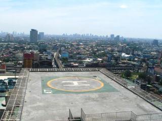 Manila skyline, facing Sta. Mesa area