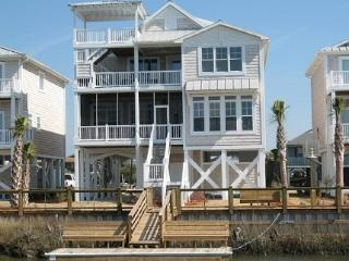 Waterfont Home w/ Elevator; Close to Beach, Ocean Isle Beach