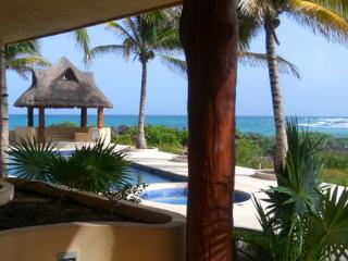 Great Ocean View, pool level luxury condo #401, Mahahual