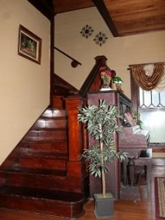 Staircase in Parlor