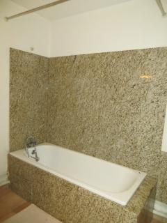 bathroom with granite interior comfort