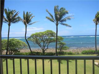 Kapaa Shore Resort #207-Oceanfrnt/2nd Flr,Wifi/Pkg