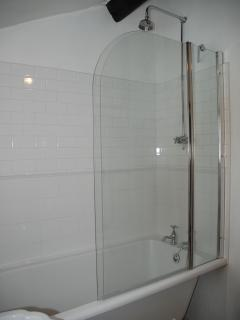 Comfortable Bath with Shower - all newly refurbished