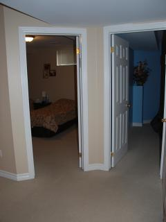 Entry to the bedrooms