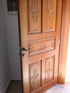 Hand crafted Turkish entrance door