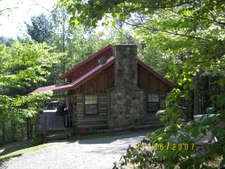 Real Log Cabin In The Smokies, Townsend