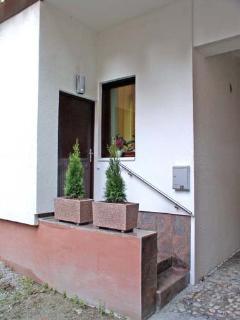 Apartment VIKTORIJA - entrance