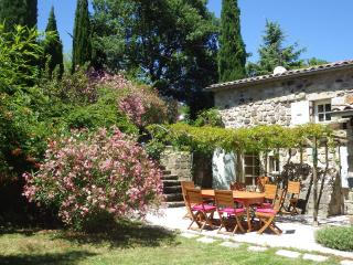 Nice stone house in the countryside in Ardèche, Largentiere