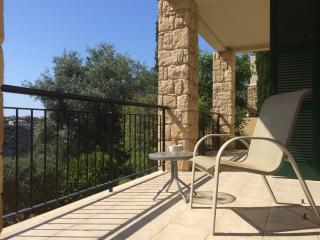 Relax on the lower terrace and soak up the views and the sun!