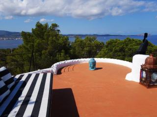 COASTLINE CHALET with POOL - Islands Sea Sunset Views near San Antonio, Sant Antoni de Portmany