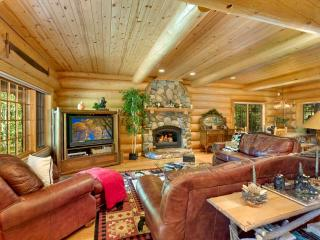 Grandiose Log Cabin Style Home, in Gated Community and Walking Distance to Lake Tahoe (ST60), South Lake Tahoe