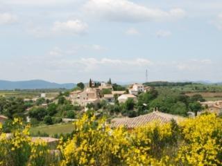maison en Languedoc dans petit village en circulad