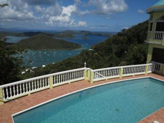 View of Coral Bay and pool