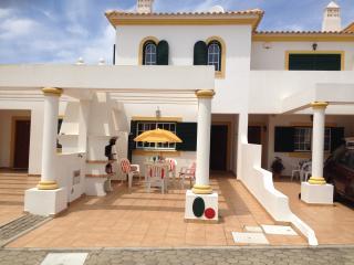 front of villa for bbq al fresco