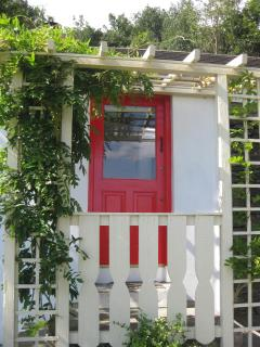 Cottage front door
