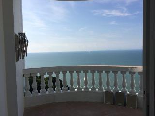 Balcony View of Endless Sea