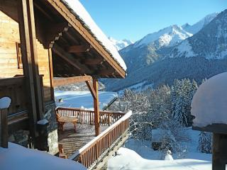 Chalet authentique au pied des pistes a Courchevel
