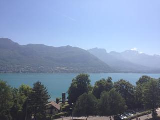 Studio vue panoramique sur le lac, Sevrier